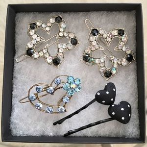 Other - NWOT 💎 5 Barrette Assortment